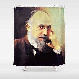 Erik Satie, Music Legend Shower Curtain