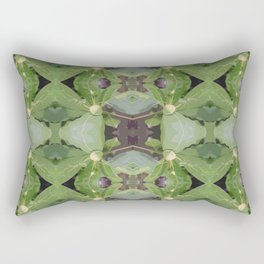 Almond Tree Pattern Rectangular Pillow