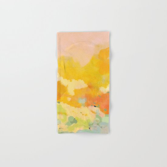 abstract spring sun by lalunetricotee
