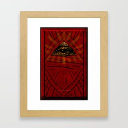 STOP WATCHING US - 001 Framed Art Print