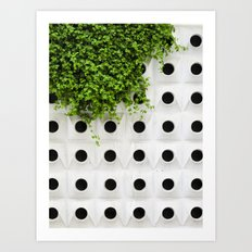 Nature and Structure Art Print