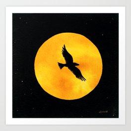 Harvest Moon 3 Art Print
