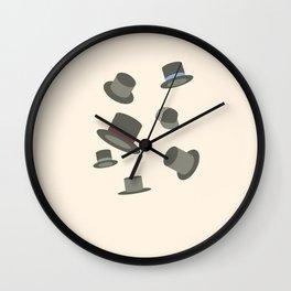 Hats off Wall Clock