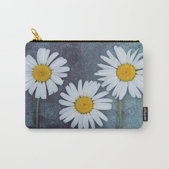 Marguerites Carry-All Pouch