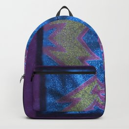 Sparkly lightning bolt Backpack