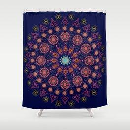 Nordic Star Shower Curtain