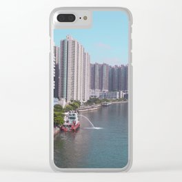 Tsuen Wan Harbour Clear iPhone Case