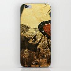 Diorama :: Rhinos iPhone & iPod Skin