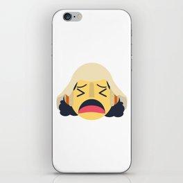 Usopp Emoji Design iPhone Skin