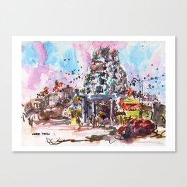 20131231 Sri Mariamman Temple, Singapore Canvas Print