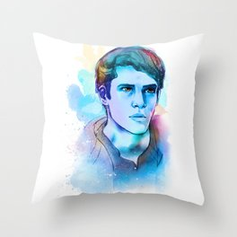 teen wolf -- scott mccall Throw Pillow