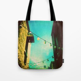 Valley Laneway in Lights  Tote Bag