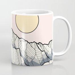 The sun and mountain Coffee Mug