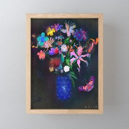 Floral Framed Mini Art Print