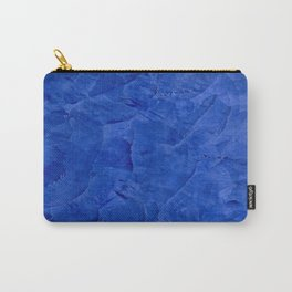 Dark Blue Ombre Burnished Stucco - Faux Finishes - Venetian Plaster - Corbin Henry Carry-All Pouch