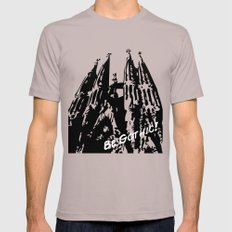 Gaudi - Be Gothic! Mens Fitted Tee Cinder SMALL