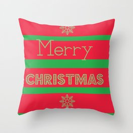 holiday christmas decoration baubles        Throw Pillow