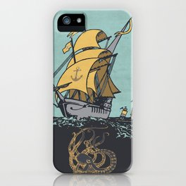 The Secrets of the Sea iPhone Case