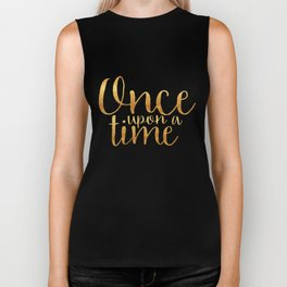 Once Upon a Time - Gold Biker Tank