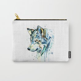 Gray Wolf - Gray Skies Carry-All Pouch