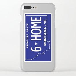 Montana Home - Bozeman, Gallatin County Clear iPhone Case