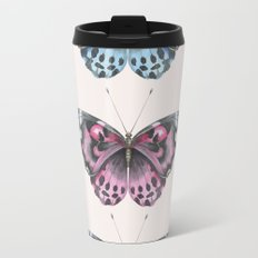 Three Butterflies Travel Mug