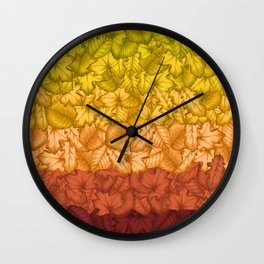 Autumn. Wall Clock