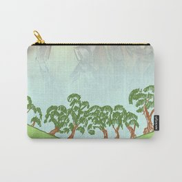 MADRONA SKY AND SKETCH NOTES ABSTRACT Carry-All Pouch