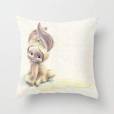 Baby-Pee-a-Little Throw Pillow