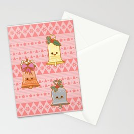 Xmas Bells Stationery Cards
