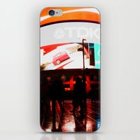 plain iPhone & iPod Skins featuring Passion Plain by Peter Morales Valovirta