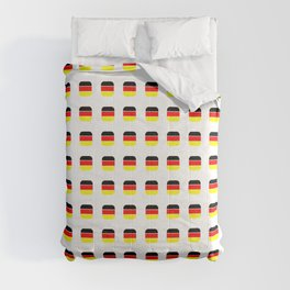 Flag of Germany -with soft square Comforters