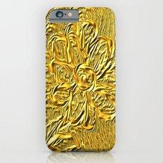 embossed floral Slim Case iPhone 6s