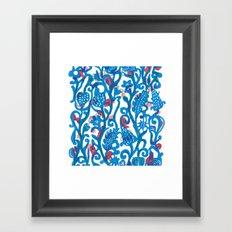 Climbing Vine Framed Art Print