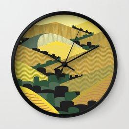 California Hills Wall Clock