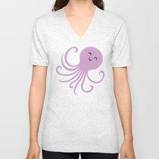 Octopus Selfie Unisex V-Neck