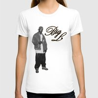 2pac T-shirts featuring Big L //Black&White by Gold Blood