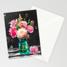 Color in the Dark Stationery Cards