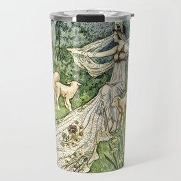 Fairy in the Meadow Travel Mug