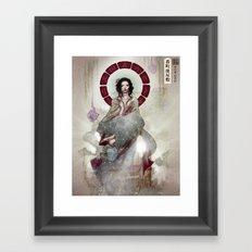 Okiku Framed Art Print