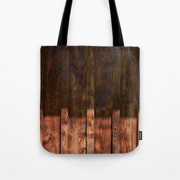 Barnwood Texture Tote Bag