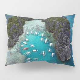 Island hopping in the Philippines Pillow Sham