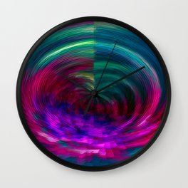 Into the bloom Wall Clock