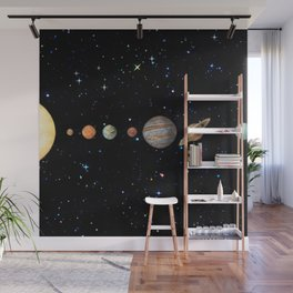 Planetary Solar System Wall Mural
