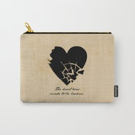 Oscar Wilde - The heart was made to be broken Carry-All Pouch