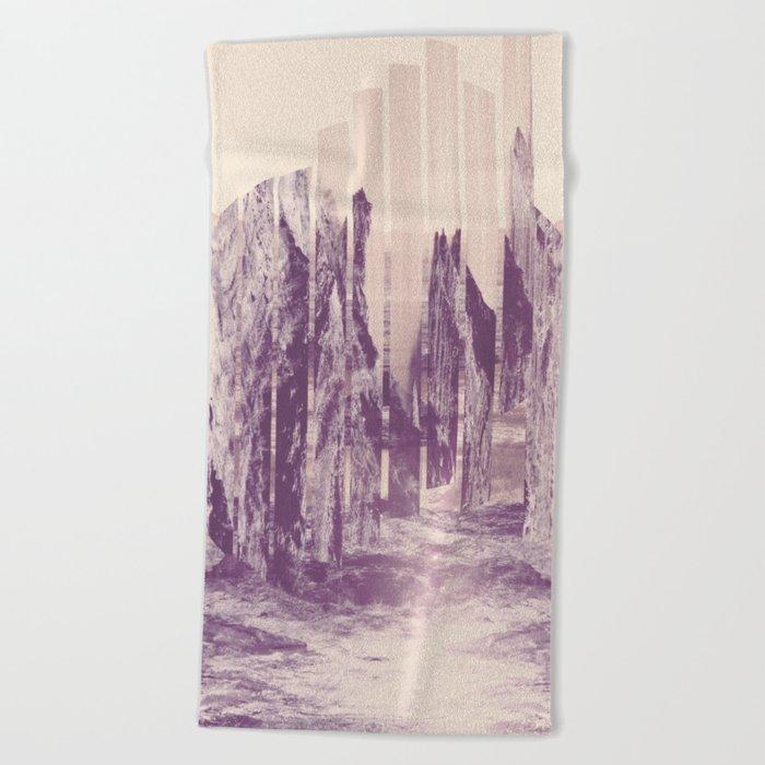 Departure Beach Towel