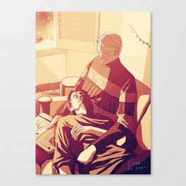 Hannibal Christmas night Canvas Print