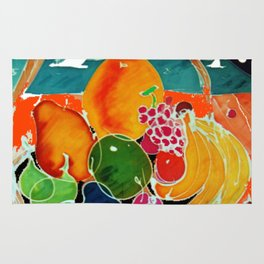 Fruit Bounty Australia           by Kay Lipton Rug