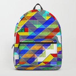 Geometric Bird of Prey Backpack