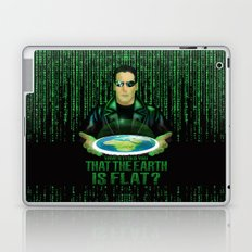 What if the one tell you that the earth is FLAT? Laptop & iPad Skin